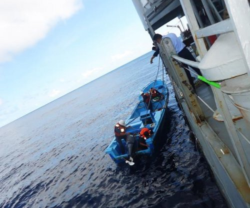 Mexican navy rescues four fishermen adrift at sea for a month