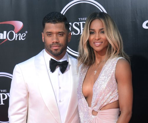 Ciara, Russell Wilson cause stir with nearly nude family photo