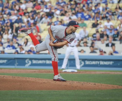 Gio Gonzalez solid in Washington Nationals' victory over Los Angeles Dodgers