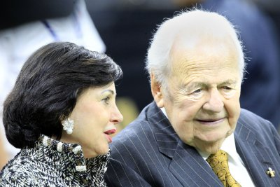 Saints owner Benson hospitalized