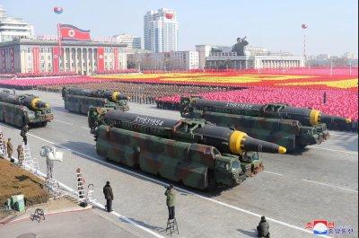 North Korea preparing for major military parade