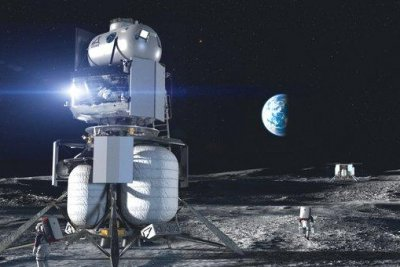 NASA chooses SpaceX, Blue Origin to build Artemis human lunar landers