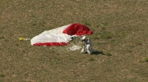 Skydiver sets 3 records with 24-mile leap