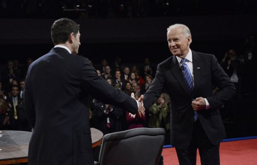 Biden, Ryan schedules for Oct. 20