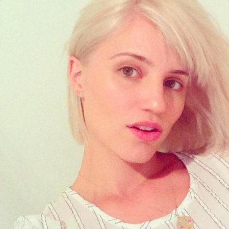 Dianna Agron channels Marilyn Monroe with new dye job