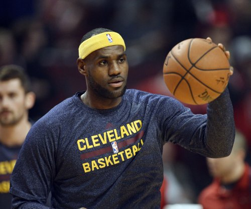 LeBron James is doubtful for Friday