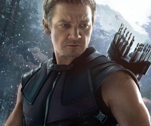 Jeremy Renner appears as Hawkeye in new 'Avengers: Age of Ultron' poster