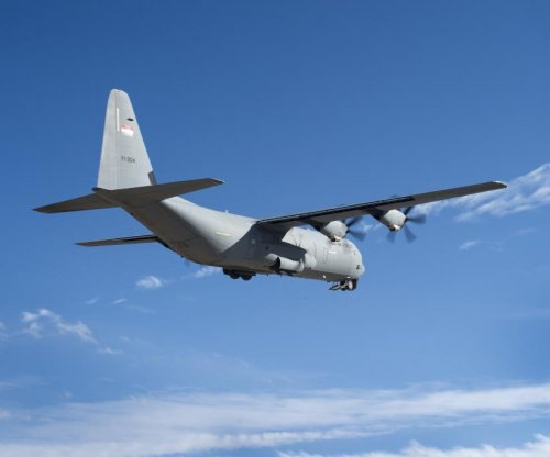 U.S. Air Force C-130 flies with Rolls-Royce T56 engine upgrade