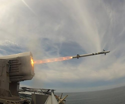 USS America tests Rolling Airframe Missile on drone