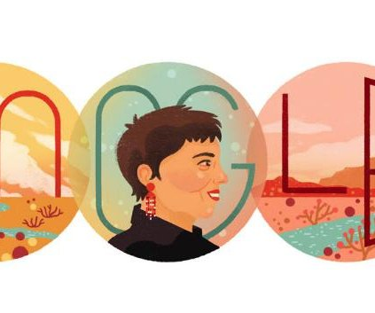 Google honors author Gloria E. Anzaldua with a new Doodle
