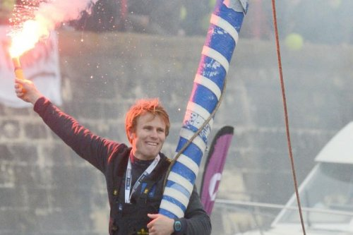 French sailor breaks world record for fastest solo circumnavigation