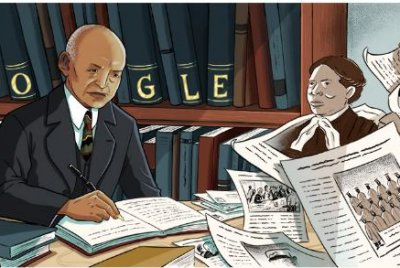 Google honors historian, author Carter G. Woodson with new Doodle