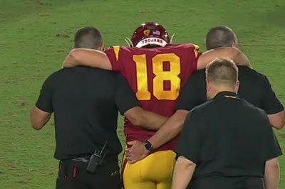 USC quarterback J.T. Daniels out for season