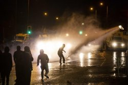 Northern Ireland riots: Police use water cannon on 7th night of unrest