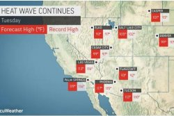 Record-smashing heat wave poised to send temps even higher