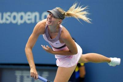 Sharapova posts sharp third-round win
