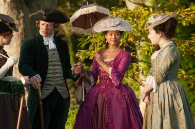 Gugu Mbatha-Raw is happy 'Belle' has a new tale to tell of Georgian England