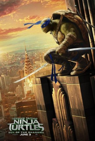 'Teenage Mutant Ninja Turtles 2' character posters revealed