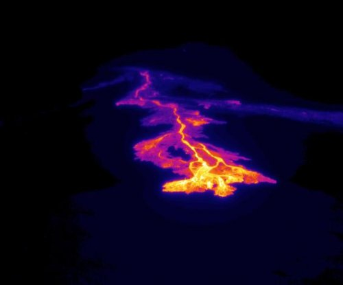 New lava flows from Hawaii's most active volcano Kilauea