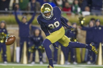 Notre Dame Fighting Irish dismiss receiver Kevin Stepherson, three others