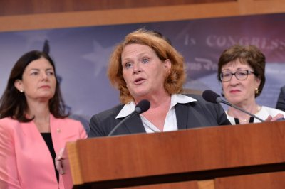 Sen. Heitkamp campaign ad used sexual assault victims' names without permission