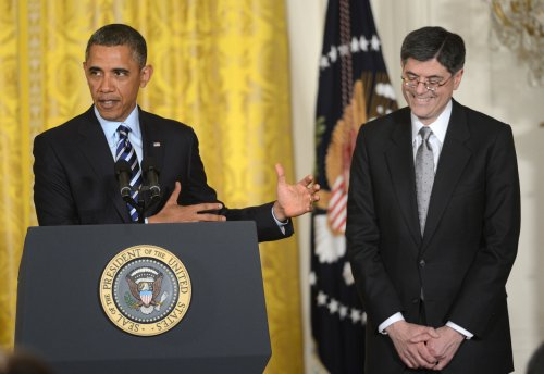 Obama nominates Lew for Treasury