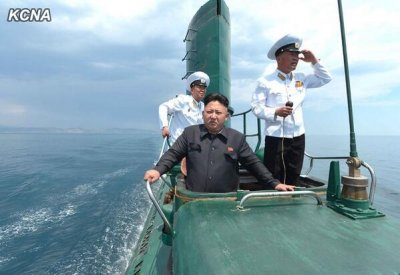 Kim Jong Un inspects North Korean submarine, calls for better combat readiness