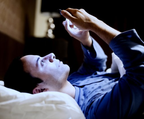 Staring at a phone or tablet before bed may be hurting sleep, study finds