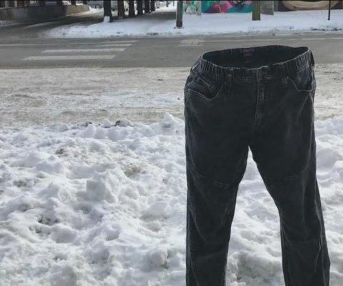 Chicago man freezes pants to reserve parking spots