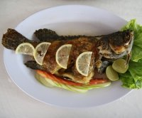 Eating fish high in omega-3s may lower death risk for heart patients