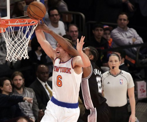 New York Knicks topple San Antonio Spurs in OT