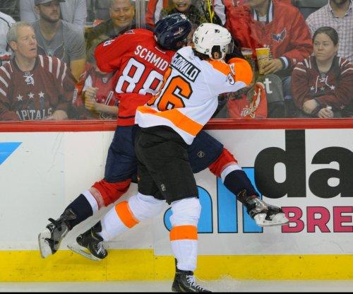 Michal Neuvirth leads Philadelphia Flyers past Washington Capitals