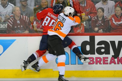 Michal Neuvirth leads Philadelphia Flyers past Washington Capitals