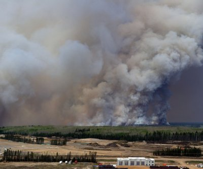 Fire-damaged Canadian municipality lent a hand