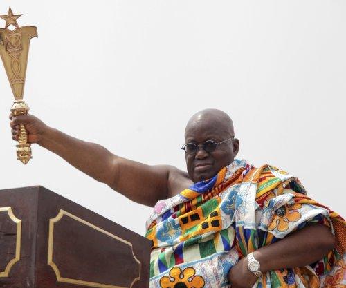 Ghana swears in new president, vice president