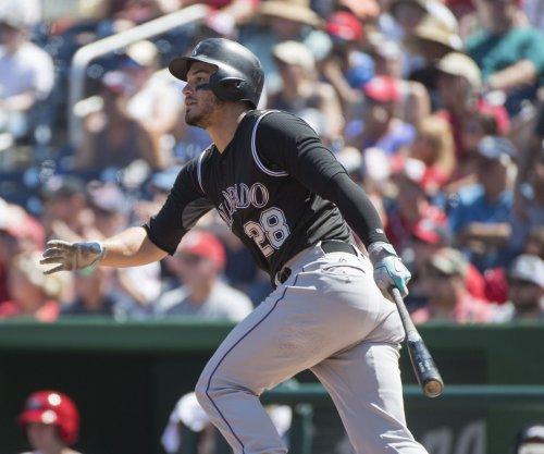 Colorado Rockies' Nolan Arenado caps cycle with walk-off homer