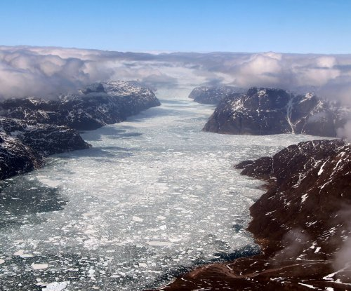 As ice sheet melts, Greenland's fjords become less salty
