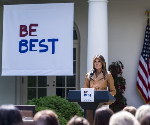 Melania Trump announces 'Be Best' campaign for child well-being
