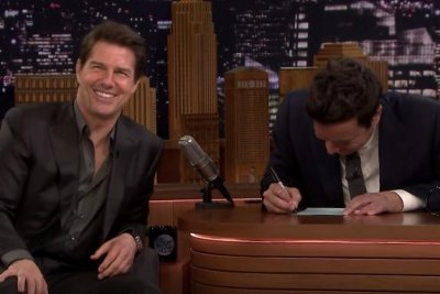 Tom Cruise plays Mad Lib Theater with Jimmy Fallon