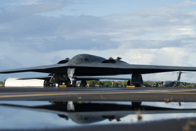 B-2 stealth bomber completes first Hawaii deployment