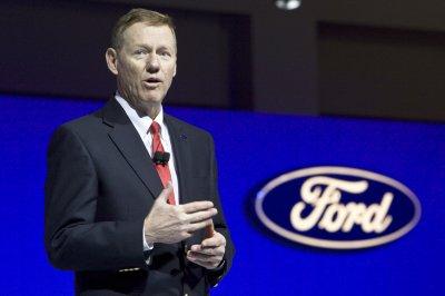 Mulally's pay up 48 percent at Ford
