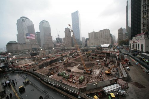 World Trade Center reconstruction to begin