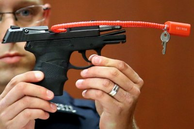 Zimmerman's auction of gun used to kill Trayvon Martin back online