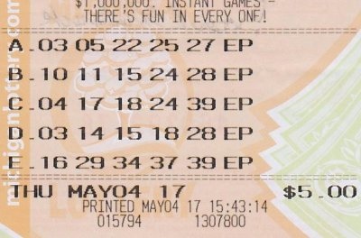 Three-peat: Michigan man celebrates third lottery jackpot