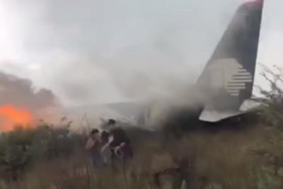 11 U.S. passengers sue Aeromexico for negligence in fiery crash
