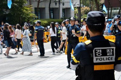 South Korea protesters clashing at comfort women site, report says