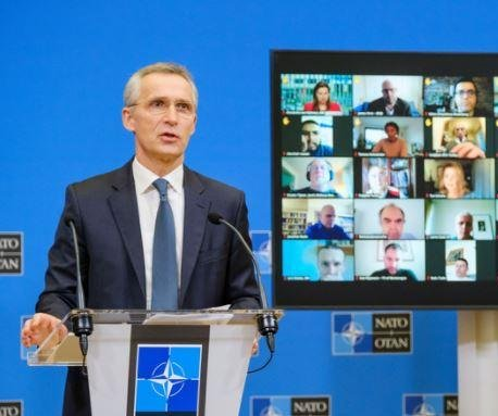 NATO chief: Troops will leave Afghanistan when 'time is right'