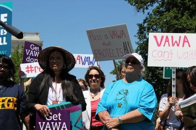 Lawmaker's VAWA slight sparks online ire