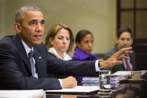 Gallery: President Obama urges Congress to approve emergency Ebola funding