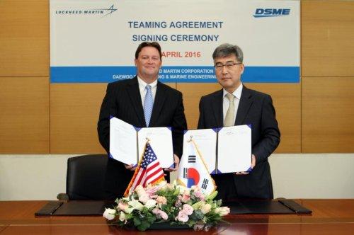 Lockheed Martin, Daewoo partner for combat ships